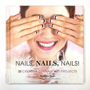 NWT DIY Nails! 25 Designs Full Color Photo Pages
